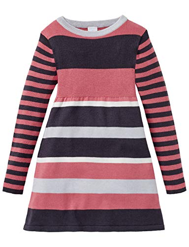 Schiesser Mädchen Rebell Girl Strickkleid T-Shirt, Rot (Lachs 513), 92 (Herstellergröße: 092)