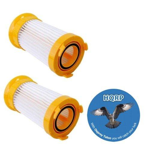 HQRP 2-Pack Washable & Reusable Filters for Eureka LightForce 4718AVZ 4717AVZ, Boss Power Plus 4703D 4703BLU, Powerline 4773AZ, Pet Pal 4716AVZ Upright Vacs Coaster