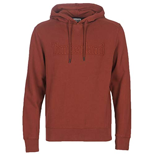 Timberland TR Timb o/h Sweat Syrah Sweatshirts und Fleecejacken Hommes Rot - XXL - Sweatshirts