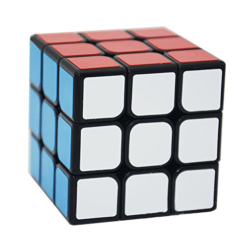MZStech Speed Cube, Speed Magic Cube 3x3x3 Autocollant Lisse Cube Puzzles Jouets (56mm)