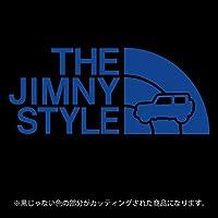 ジムニー 4代目JB64/JB74系ステッカー THE JIMNY STYLE【カッティングシート】パロディ(12色から選べます) (ブルー)