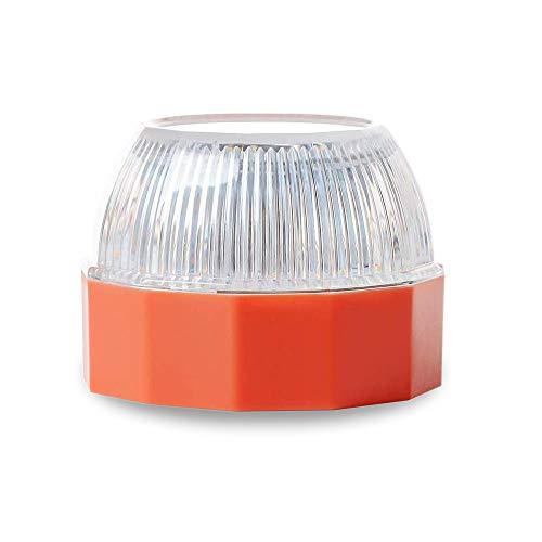 Luz de Emergencia, Señal V16 de Preseñalización de Peligro Homologada Help Flash · Luz Emergencia Magnética para Coches y Motocicletas · Autorizada por la DGT