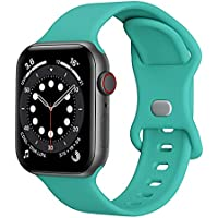 Replacement Silicone Bands for 38/40mm & 42/44mm Apple Watch (various)