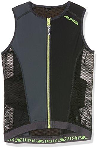 ALPINA Kinder Rückenprotektor JSP Vest, Black, 116/122