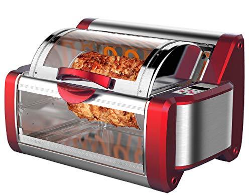 CucinaPro Multi Rotisserie | Oven | Grill | Multi-Oven | Kippengrill | Mini-oven 1200 W |