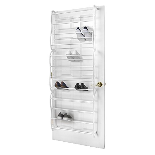 Sunbeam Door' 36-Pair Shoe Rack [Misc.], White