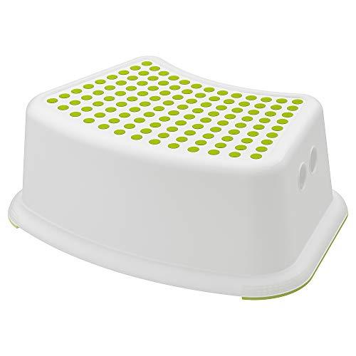 Ikea bambini Sgabello foersi ktig, Bianco Verde