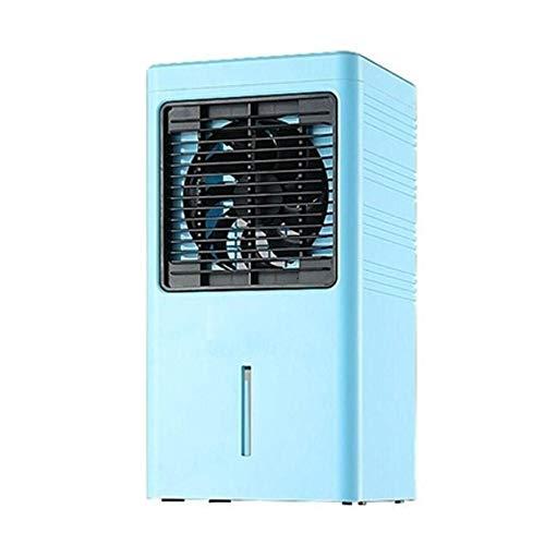 DIAOD Multifuncional de escritorio de aire del ventilador del acondicionador de Ministerio del ventilador eléctrico mini refrigerador de humidificación de aire del dormitorio del hogar Pequeño portáti