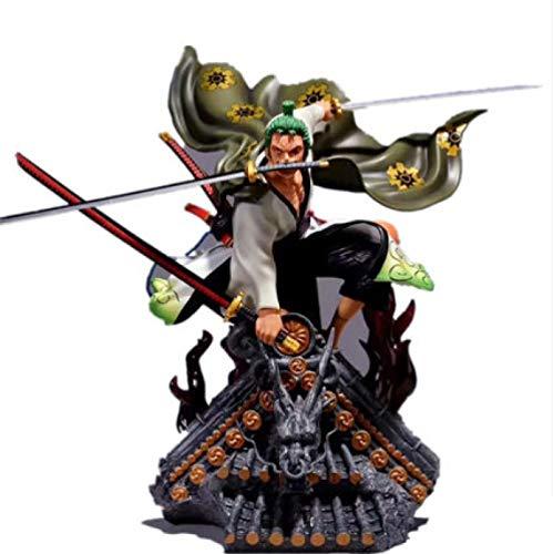 Ltong 50Cm Anime Einteilige Statue Roronoa Zoro Gk Kimono Ver. Actionfigur Gt Toys Herren Geschenke Für...