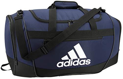 adidas Unisex Defender III Small Duffel Bag Team Navy Blue Small