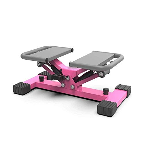 Whp Exercise Step Machine Mountaineering Stepper, Home Stovepipe Silent Mountaineer, Aerobic Exercise-free Installation Of Fitness Equipment(Pink,33 * 60 * 25cm)