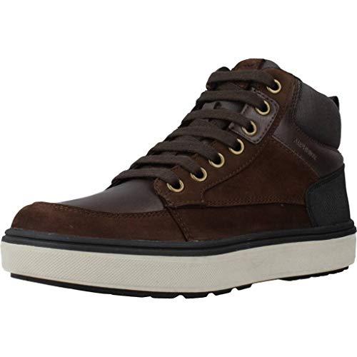 Geox J Mattias B Boy ABX Sneaker Jungen Kaffee/Schwarz - 35 - Sneaker High
