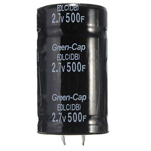 LaDicha Condensateur Super Farad Noir 2.7V 500F 35 X 60Mm