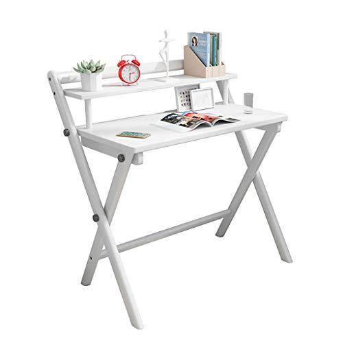 J.W. Faltbarer Computertisch Home Massivholz Schreibtisch Studie Kleiner Tisch Desktop Einfacher Schreibtisch Home Student Floor Table