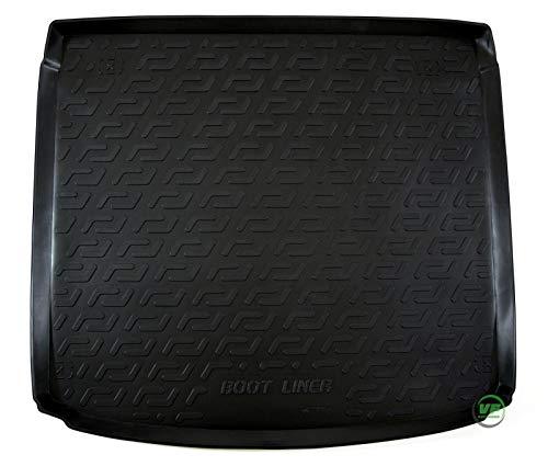 J&J AUTOMOTIVE Premium Antirutsch Gummi-Kofferraumwanne für Astra H Caravan 2004-2014