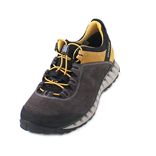 AKU AKU Herren CLIMATICA Suede GTX Outdoor Fitnessschuhe, Grau (Antracite/Yellow), 45 EU