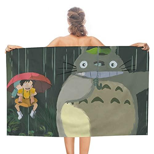 My Neighbor Totoro Toallas Toallas de baño ultra suaves y absorbentes - Grandes toallas de ducha, toallas de hotel y toallas de gimnasio