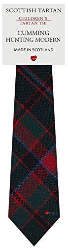 I Luv Ltd Garçon Tout Cravate en Laine Tissé et Fabriqué en Ecosse à Cumming Hunting Modern Tartan