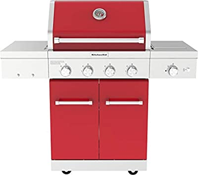 KitchenAid 720-0954R Propane Gas Grill, Red