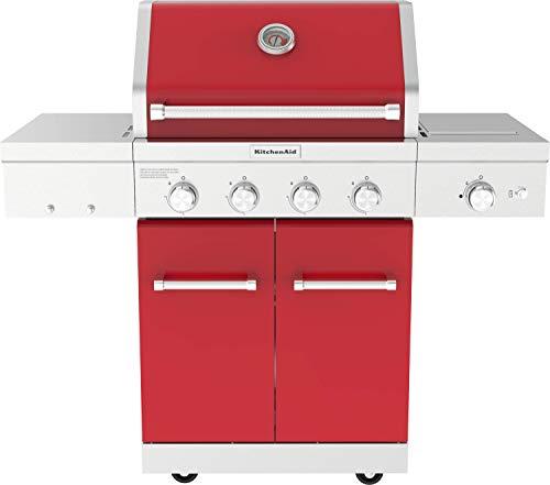Propane Gas Grill, Red - KitchenAid 720-0954R