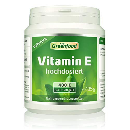 Greenfood Natural Products -  Vitamin E, 400 iE,