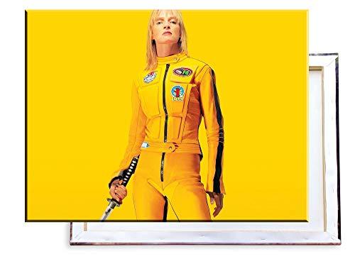 Unified Distribution Kill Bill - 80x60 cm Kunstdruck auf Leinwand • erstklassige Druckqualität • Dekoration • Wandbild