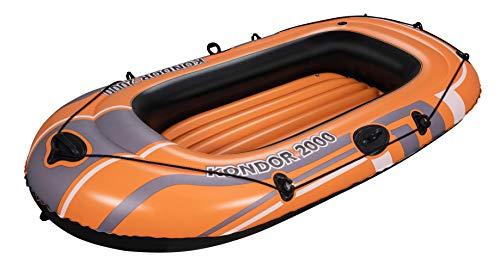 Bestway Schlauchboot Kondor 2000, für 1 Erwachsenen und 1 Kind, 188 x 98 x 30 cm