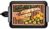 Smokeless Electric Grill, Deluxe Extra Large Surface Portable and Nonstick 18