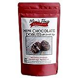 Gluten Free Mini Chocolate Donuts Mix with Chocolate Glaze