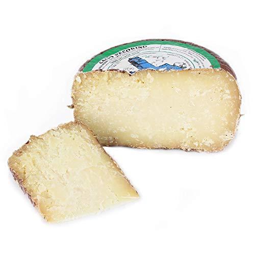Ganzer Käselaib 1,5 kg - PECORINO TOSCANO DOP aus CASENTINO - 4 MONATE gereift - Käse aus BERGSCHAFMILCH - Direkt aus Italien