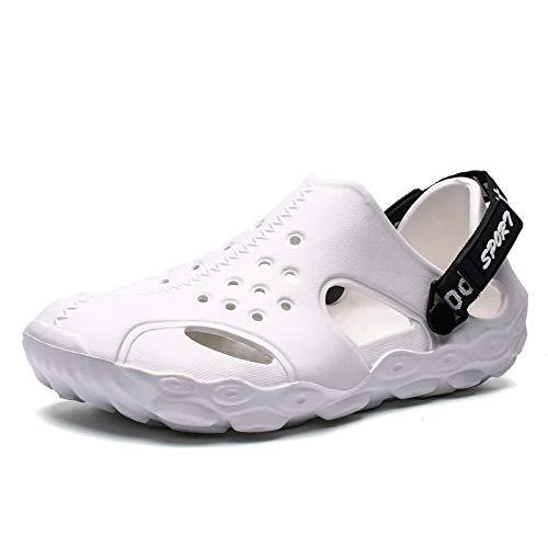 Chanclas Unisex Zapatos De Agujero Hombres Sandalias De Playa Zapatos De Piscina Al Aire Libre De Verano Hombres Nuevo Resbalón Cómodo En Zuecos De Jardín Zapatillas Casuales