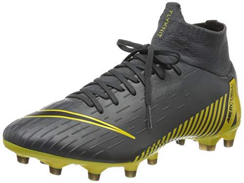 Nike Herren Superfly 6 Pro AGpro Fußballschuhe, Grau (Dark Grey/Black-Dark Grey 070), 42 2/3 EU