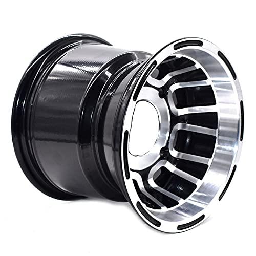 ATV 8 pulgadas rueda trasera aleación de aluminio llantas 8'x 7 quad chino off-road 4 ruedas motocross motocross (Color : A)