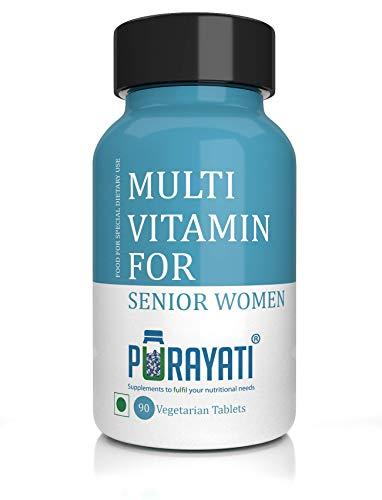 Purayati Multivitamin Dietary Supplement for Senior Women's - 90 Tablets