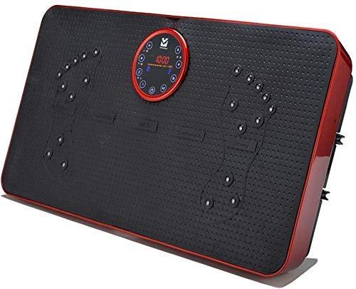 WEIZI Ultrakompakte dünne Vibrationskraftplatte Multifunktionsvibrationsplatte Ultradünne Formmaschine zum Abnehmen zur Gewichtsreduzierung