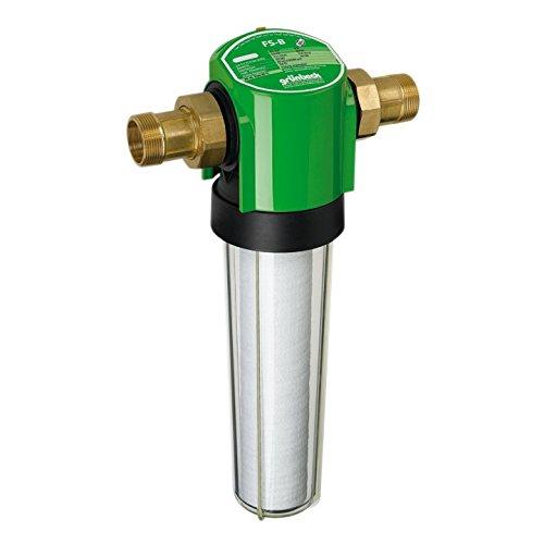 """Grünbeck Geno Feinfilter 2"""", Wasserfilter für Trinkwasseranlagen, ohne Druckminderer, 101 185, mehrfarbig"""