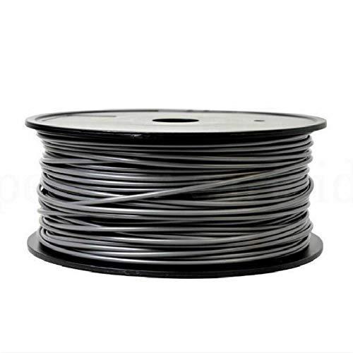 CCH-YS Materials, 1pc PLA Filament 1.75mm 0.85kg 3D Printing Materials Imported PLA Plastic Granule Pollution-free Material 3D Printer Filament (Color : Gray)