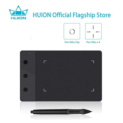 HUION H420 OSU Tablet Graphics Drawing Signature Pad with 3 Express Keys (4-by-2.23 Inches)...