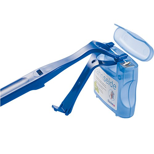 Fuchs Zahnseidenhalter mit Zahnseide, 2er Pack (2x 1 Stück)