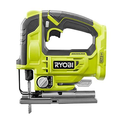 RYOBI 18-Volt ONE+ Cordless Brushless Jig Saw - P524 (Tool Only) (Renewed)