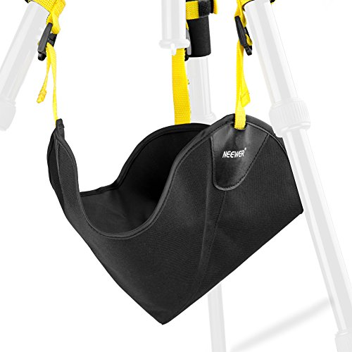 Neewer Black Heavy Duty Photographic Studio Video SandBag for Universal Light Stands, Boom Stand and Tripod