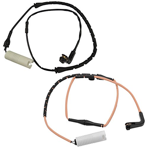 Bapmic 34356778037 Front + 34356778038 Rear Brake Pad Sensor Kit for BMW 7er E65 E66