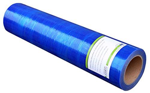 Colorus Premium Glasschutzfolie 50 cm x 100 m | Fensterschutzfolie selbstklebend blau 50 my | Oberflächenschutzfolie selbsthaftend | Selbstklebende PE-Folie UV beständig | Malerschutzfolie