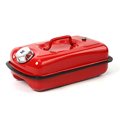 Recliner Eisenbrennstoffdose Horizontal 5L / 10L 20L Gastank Tragdose Eingebautes Ölführungsrohr Autos und Motorräder für Stahlblechdicken von 0,8 mm