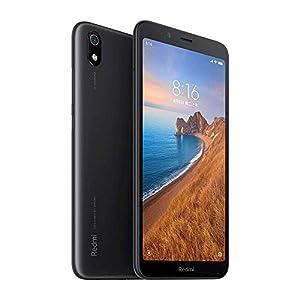 Xiaomi Redmi 7A Smartphone, 2GB RAM 16GB ROM Dual SIM 5.45 '' Pantalla Completa HD, Qualcomm Snapdragon SDM439 Octa-Core Procesador,Fuente Grande,Cámara Trasera de 13MP Cámara Frontal de 5MP (Negro)