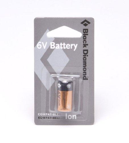 Black Diamond – 6 Volt Battery, Couleur Black