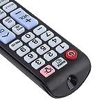 FOLOSAFENAR Mando a Distancia con Teclado Mando de Repuesto portátil y cómodo, para Smart LCD LED TV, para Samsung Smart TV