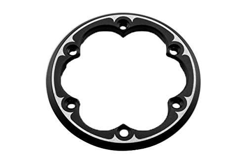 Axial XR10, Alum. 2.2 VWS Beadlock Ring (2) BL, AX08069 by Racing