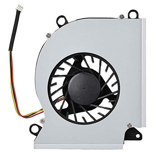 BAOZUPO Ventilador de refrigeración para computadora, Mini ventilador de refrigeración para CPU portátil para computadora portátil, Ventilador silencioso de refrigeración interna para CPU, para MSI GT