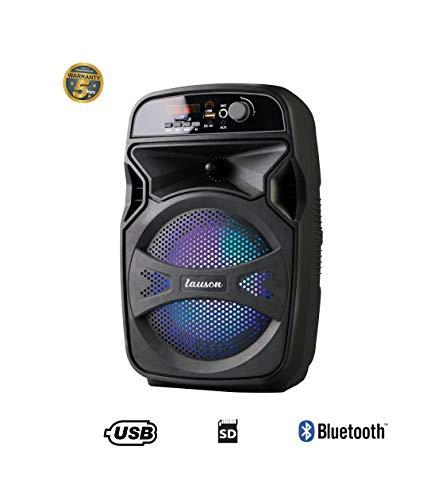 Lauson Cassa Acustica Karaoke Altoparlante Bluetooth